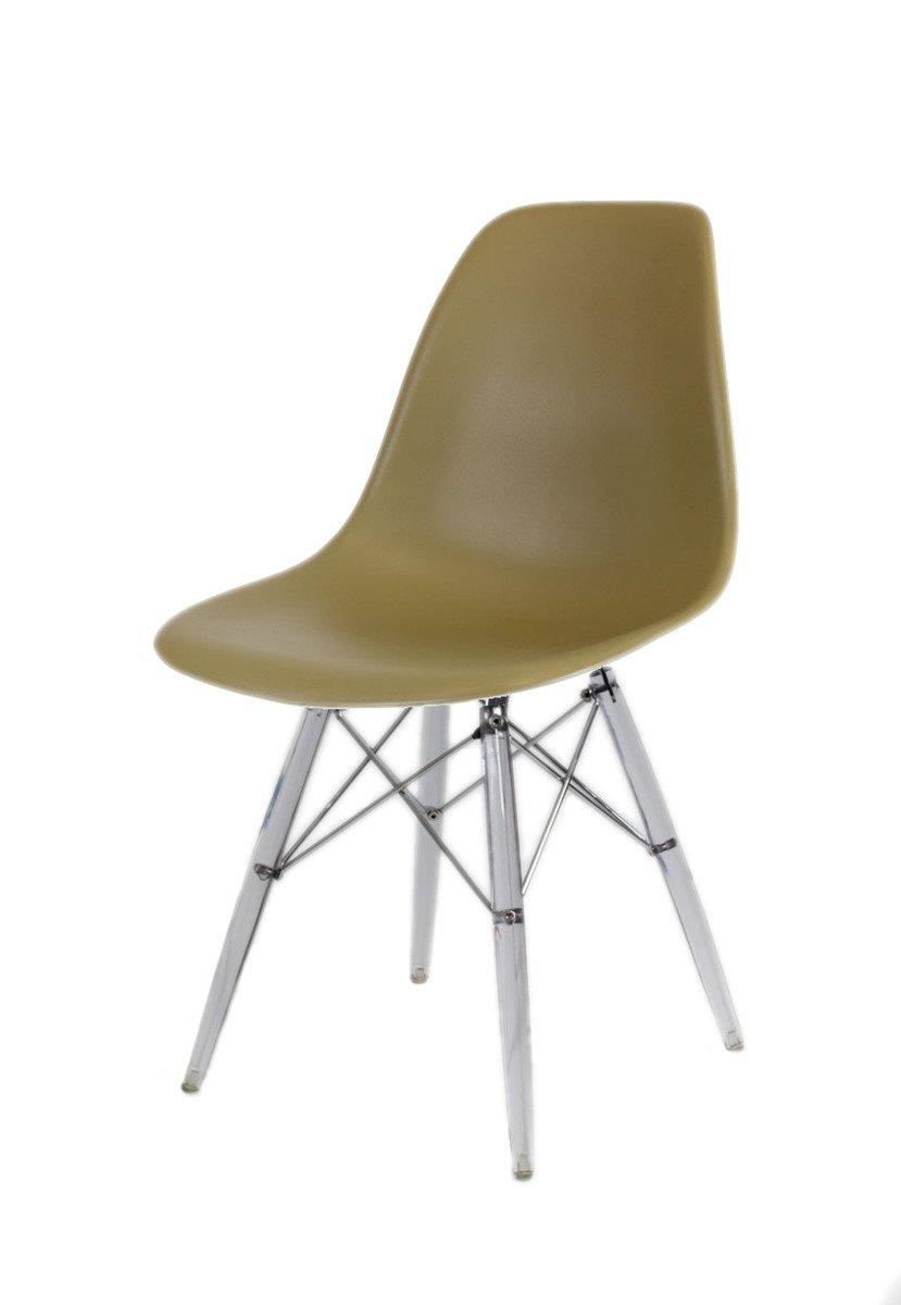 Sk design kr012 khaki stuhl klar khaki tworzywo sztuczne for Design stuhl hersteller