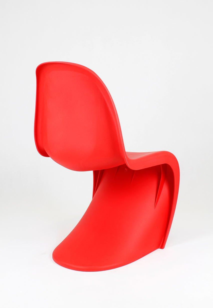 Sk design kr017 rot stuhl matt rot angebot st hle for Design stuhl rot
