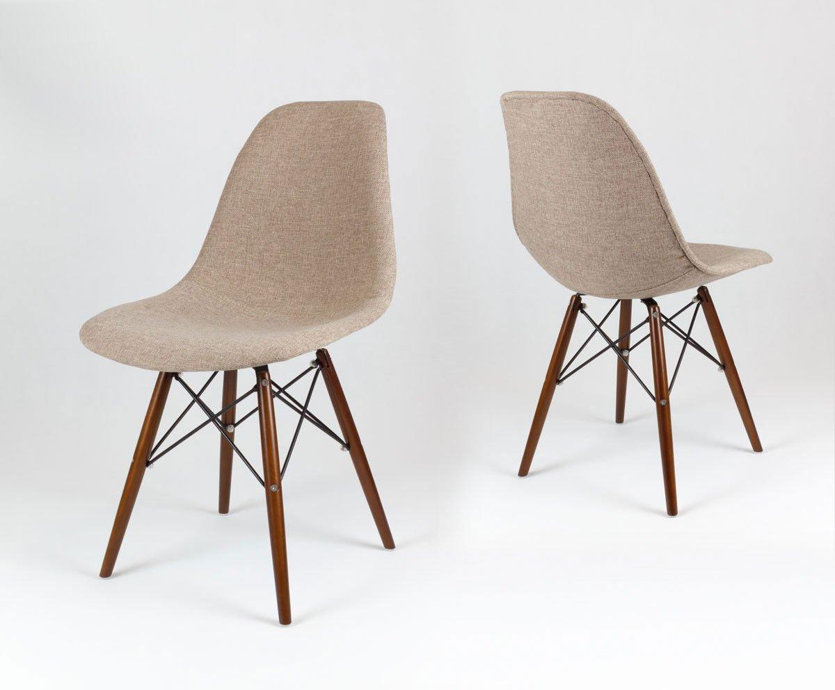 Sk Design Kr012 Tapicerowane Krzesło Muna03 Wenge Muna03 Drewno