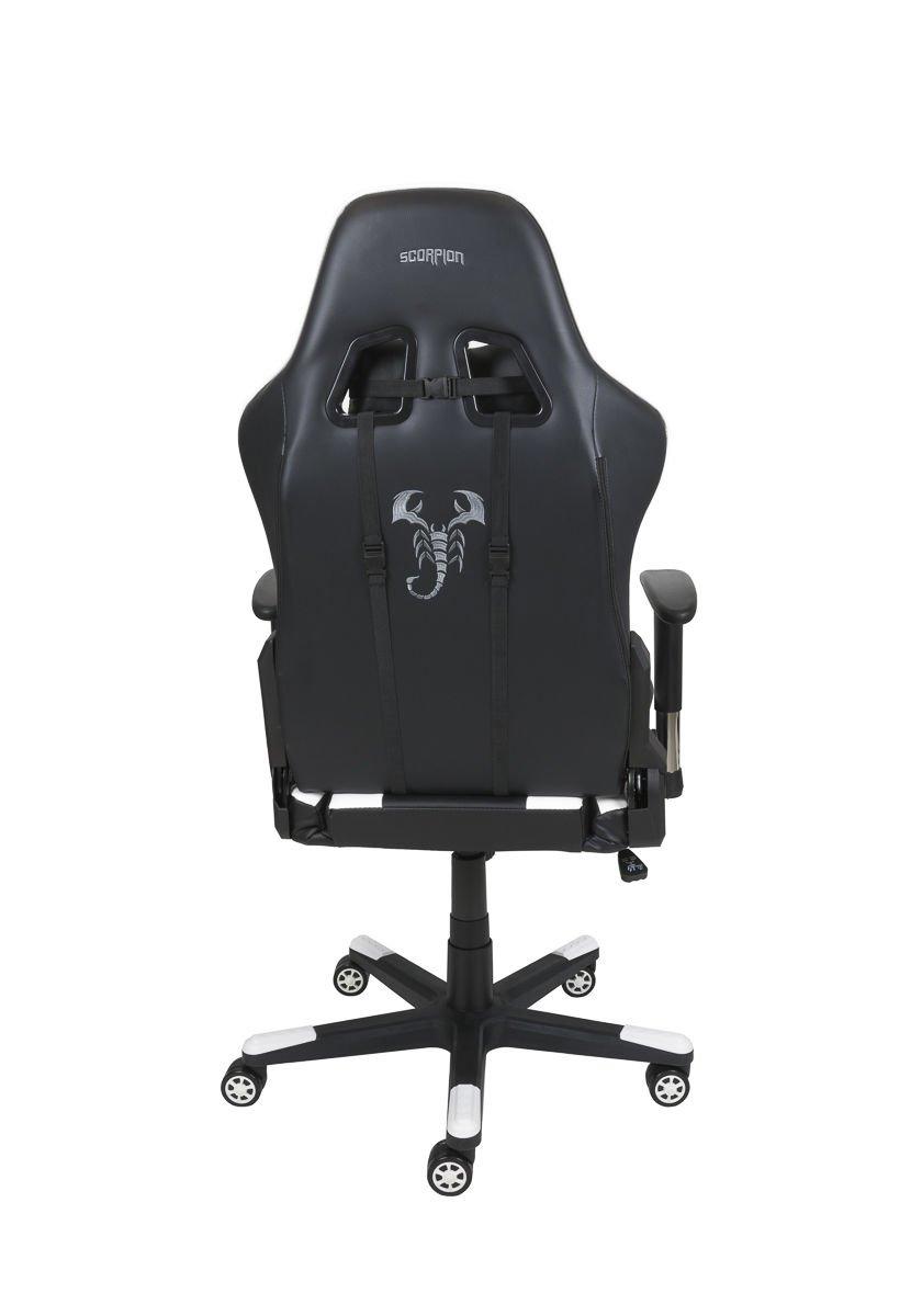 Super Gaming Armchair Scorpion White Skg005 B Squirreltailoven Fun Painted Chair Ideas Images Squirreltailovenorg