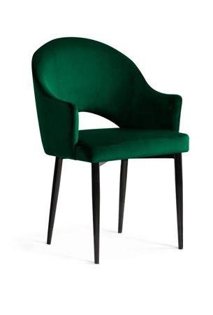 Chair GODA green / black leg / BL78