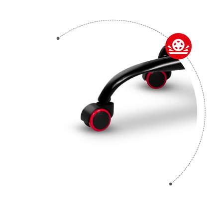 Gaming Armchair Scorpion Black SKG005 CZ