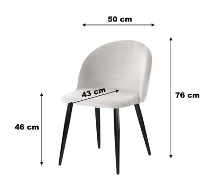 KALIPSO chair pink material MG-55