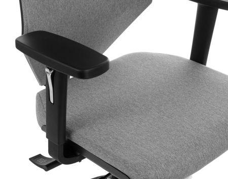 Krzesło Fotel obrotowy - FOGO SZARY