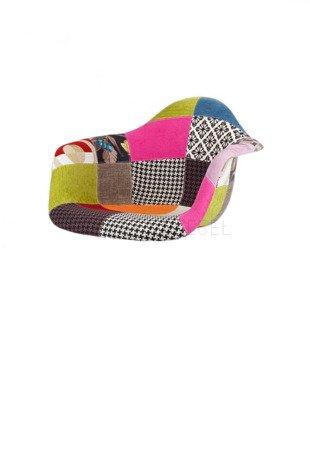 SK Design KR012F Upholstered Seat Patchwork 1