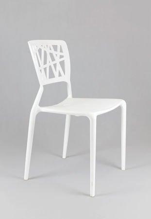 SK Design KR014 White Chair
