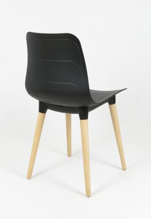 SK DESIGN KR062 BLACK CHAIR