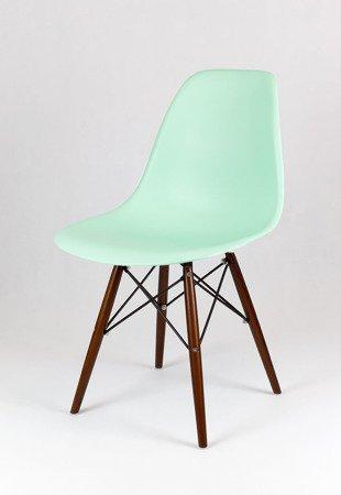 SK Design KR012 Pistachio Chair, Wenge Legs