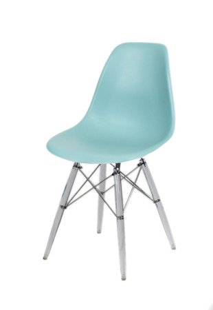 SK Design KR012 Surfin Chair, Clear legs