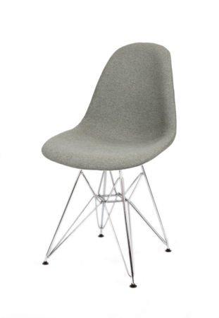 SK Design KR012 UPHOLSTERED CHAIR MALAGA06 CHROME
