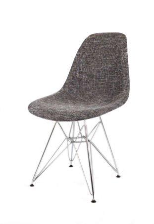SK Design KR012 Upholstered Chair Lawa17, Chrome legs
