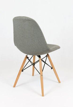 SK Design KR012 Upholstered Chair Malaga06, Beech legs
