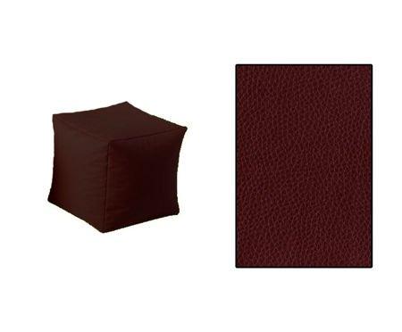 SKN Pouf Brown Cubes