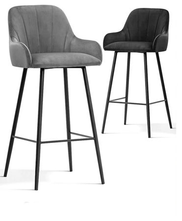 TULIP chair green / black leg / BL78