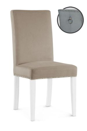WILLFORD III chair beige / white / PA03