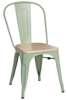 Chair Paris Wood green natural pine