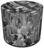 SKP BERTONI DECORATIVE POUF NEW YORK HD