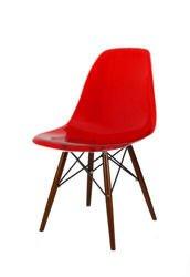 SK Design KR012 Stuhl Transparent=Rot, Wenge