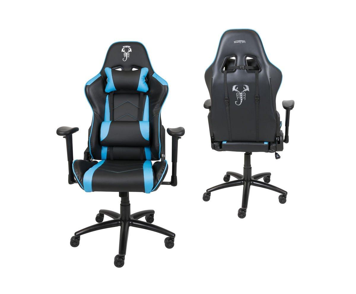 Gaming Sessel Scorpion Hellblau Skg004 Jn