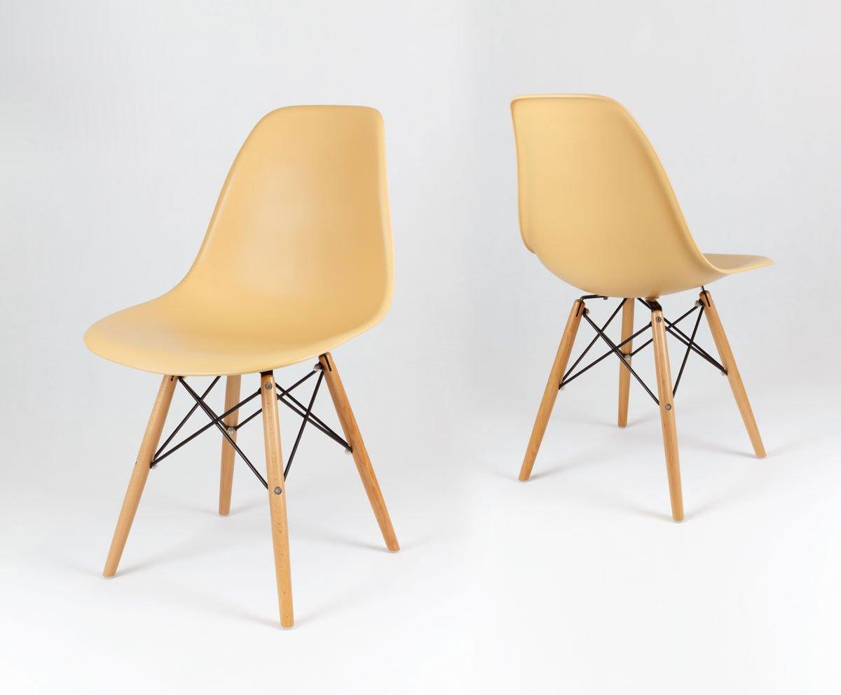 Sk design kr012 sand beige stuhl buche sand holz buche for Stuhl buche