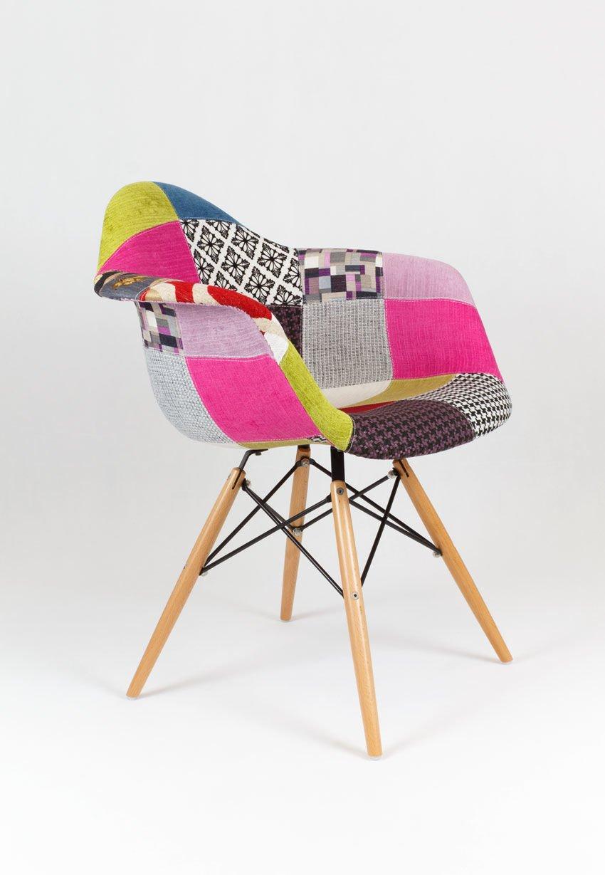 sk design kr012f polster sessel patchwork 1 buche pat holz buche angebot st hlen angebot. Black Bedroom Furniture Sets. Home Design Ideas