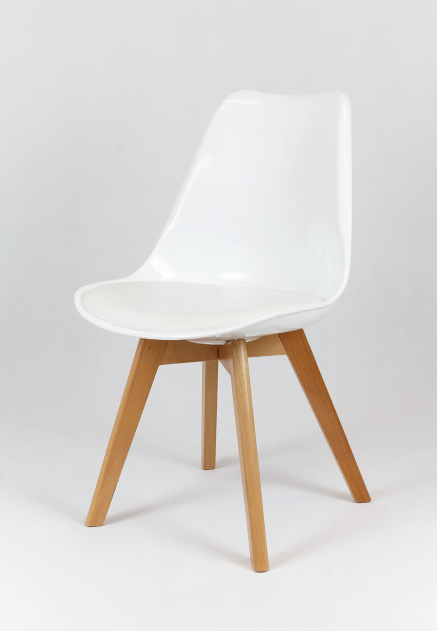 sk design kr020 weiss stuhl mit polypropylen und kissen. Black Bedroom Furniture Sets. Home Design Ideas