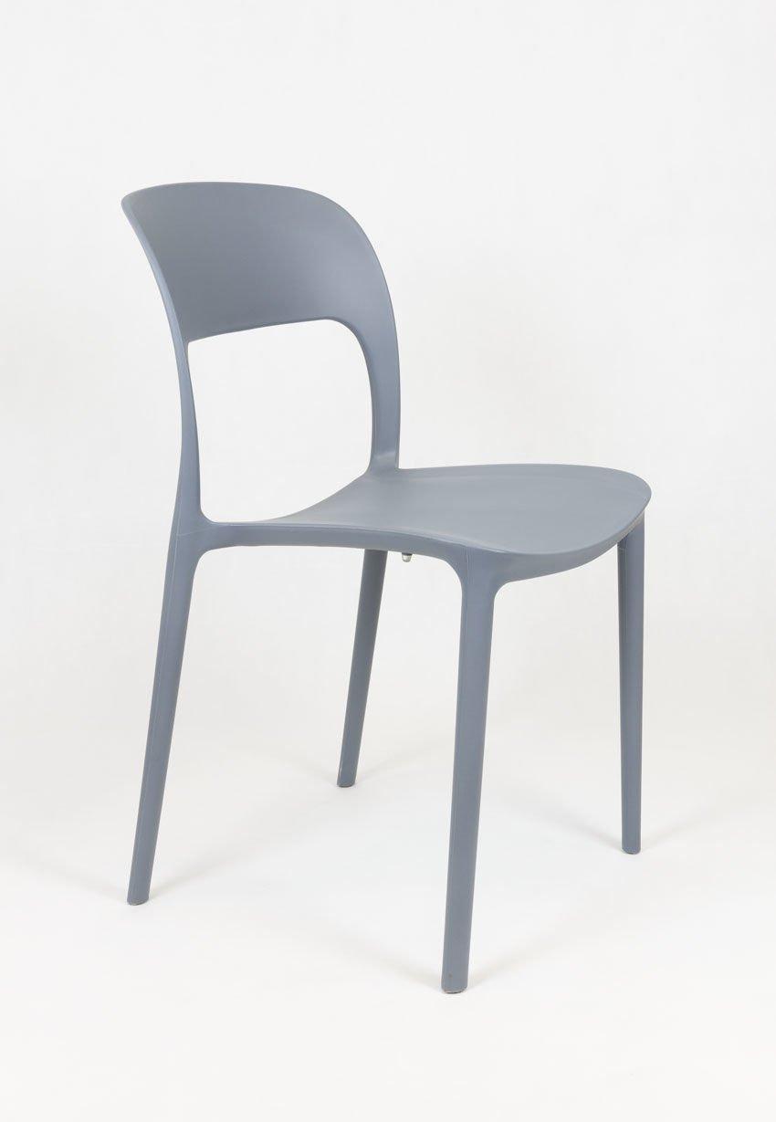 Sk design kr022 dunkelgrau stuhl aus polypropylene for Design stuhl hersteller