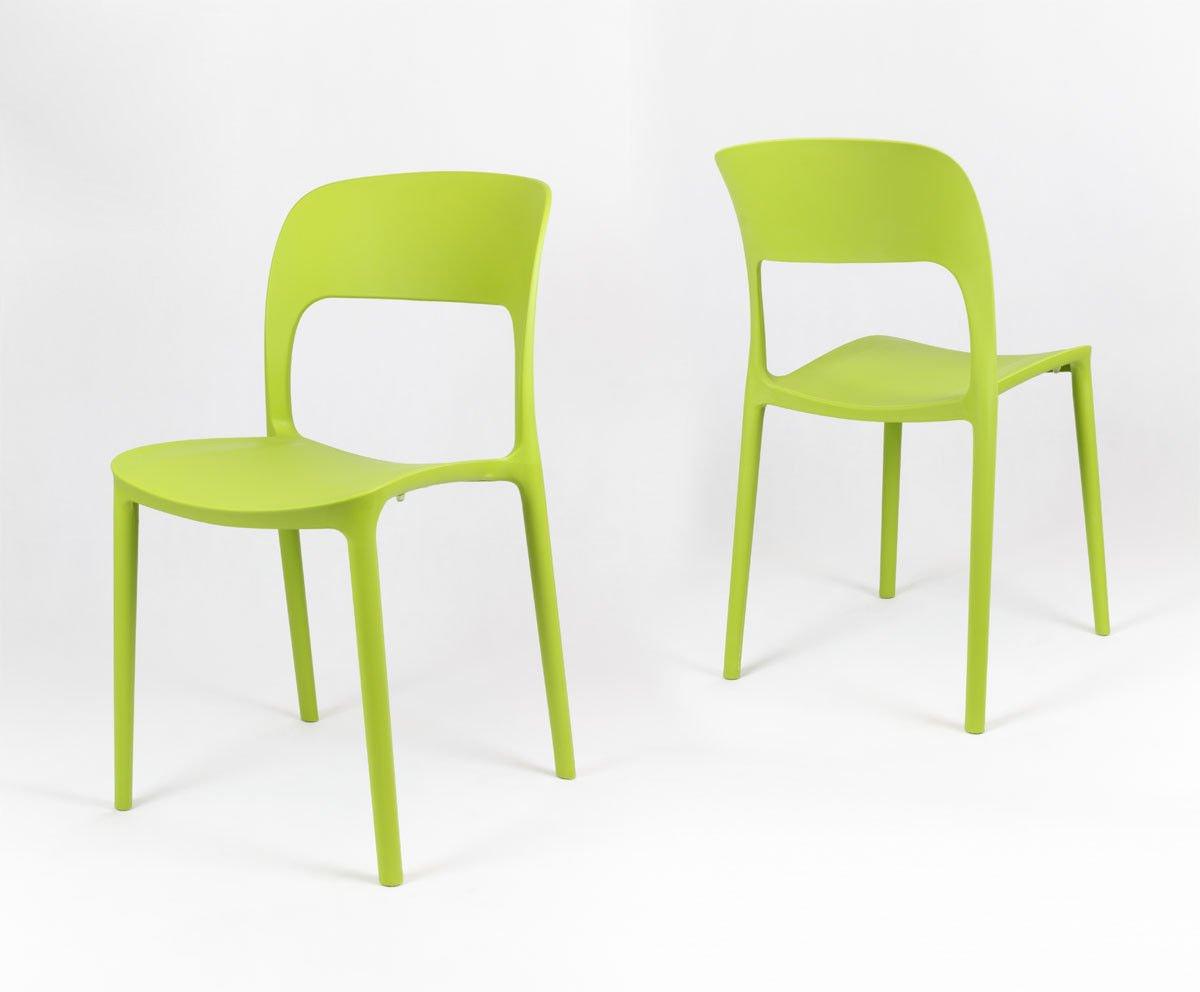 Sk design kr022 gr n stuhl aus polypropylen gr n angebot for Design stuhl hersteller