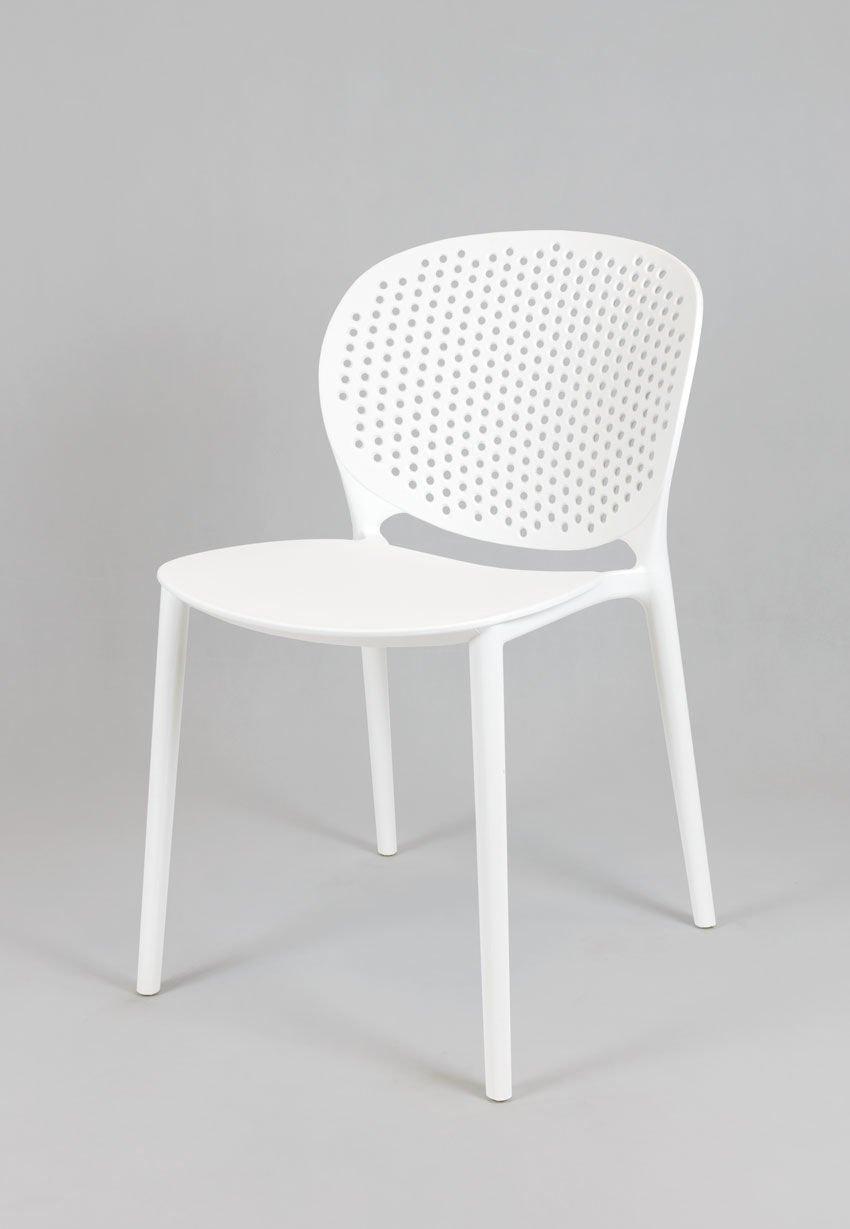 sk design kr033 weiss stuhl aus polypropylen weiss. Black Bedroom Furniture Sets. Home Design Ideas
