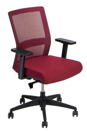 Bürostuhl Drücken Sie rot / rot