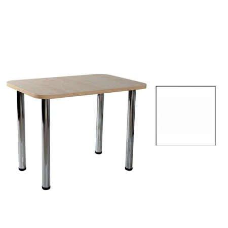 Carlo 03 Weiß 50x80x1,8 Tisch