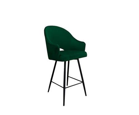 Dunkelgrüner gepolsterter Sessel DIUNA Sessel Material MG-25
