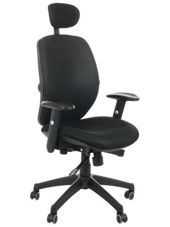 Fotel biurowy gabinetowy obrotowy Malta - czarny