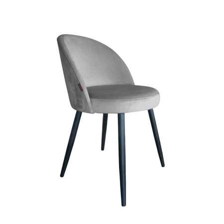 Grau gepolsterter Stuhl CENTAUR Material MG-17