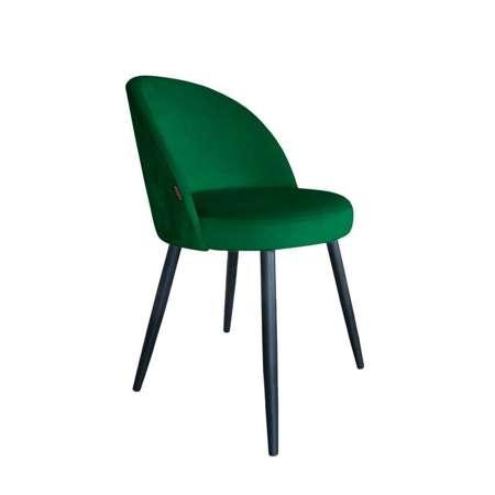 Grün gepolsterter Stuhl CENTAUR Material MG-25