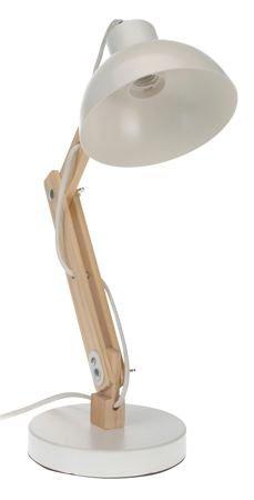 Intesi Sole weiße Tischlampe
