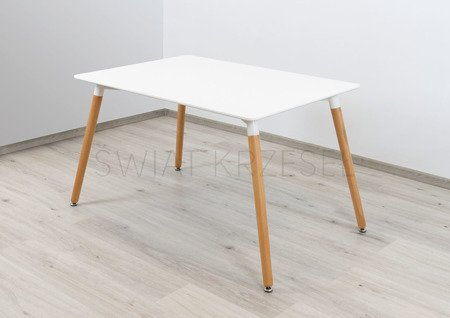 SK DESIGN ST05 WEISS TABELLE 120 x 80 cm