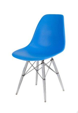 SK Design KR012 Blau Stuhl, Klar