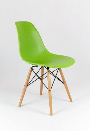 SK Design KR012 Grun Stuhl, Buche