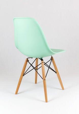 SK Design KR012 Pistazie Stuhl Buche