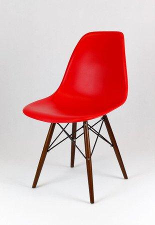 SK Design KR012 Rot Stuhl Wenge