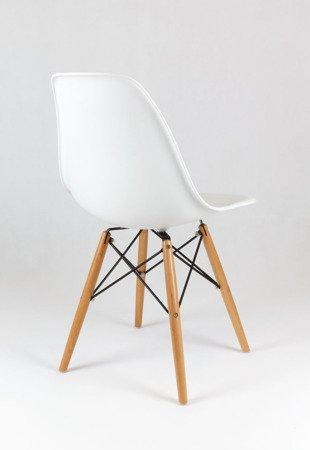 SK Design KR012 Weiss Stuhl Buche