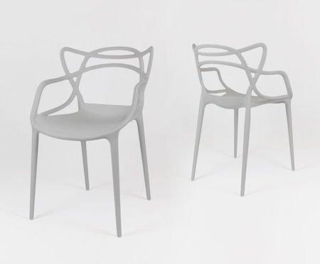SK Design KR013 Hellgrau Stuhl