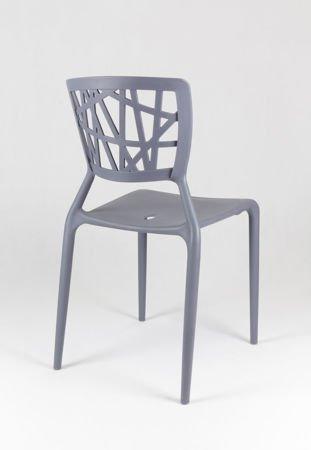 SK Design KR014 Grau Stuhl