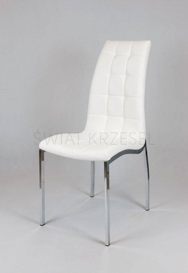 Bardzo dobryFantastyczny SK Design KS002 Białe Pikowane Krzesło Biały | Oferta \ Krzesła WU84