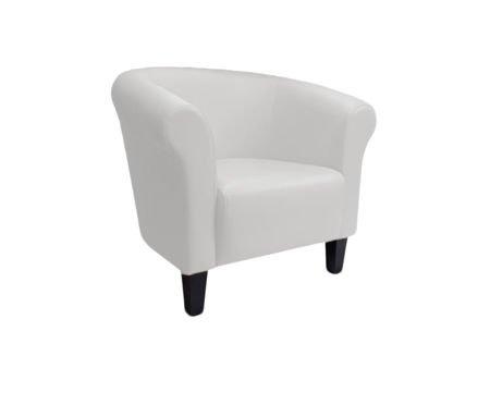 DZIECIĘCY Fotel MALIBU biały