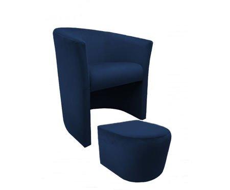 Fotel CAMPARI z podnóżkiem Magic Velvet 16