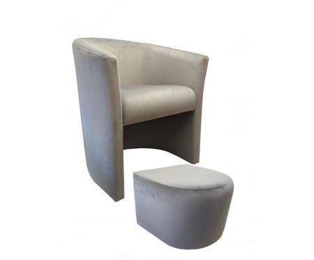 Fotel CAMPARI z podnóżkiem Magic Velvet 39