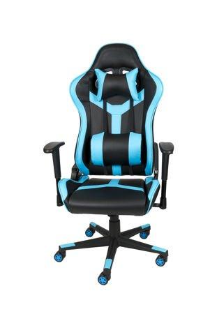 Fotel Gamingowy SK Design Jasnoniebieski SKG002 JN Scorpion