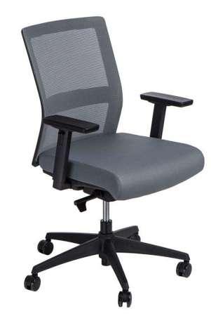 Fotel biurowy Press szary/szary